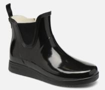 Charlie Classic Patent Stiefeletten & Boots in schwarz