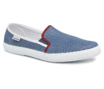 Slip On RejillainTricolor Sneaker in blau