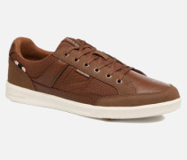 Jack & Jones JFW Rayne Mesh Mix Sneaker in braun