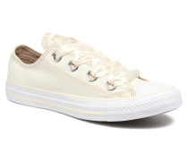 Chuck Taylor All Star Big Eyelets Pastel Canvas Ox Sneaker in weiß