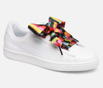 Basket Heart Gen Hustle Sneaker in weiß