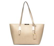 AFADOLLAA Handtasche in goldinbronze