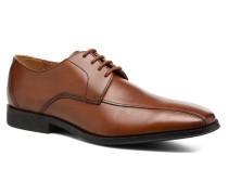 Gilman Mode Schnürschuhe in braun