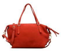 Cabas cuir Little Imane Handtasche in rot