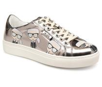 Kupsole Multikonic Karl Lo Lace Sneaker in silber
