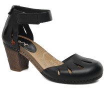 I Meet 144 Sandalen in schwarz