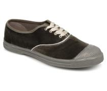 Tennis Velvet Piping Sneaker in grau
