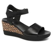 Go In Sandalen in schwarz