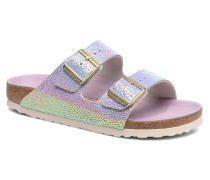 Arizona Cuir Soft Footbed Clogs & Pantoletten in silber