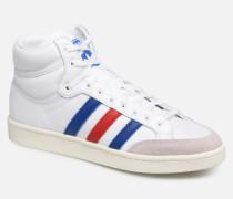 Americana Hi Sneaker in weiß
