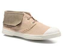 Tennis Indian Fringes Sneaker in beige