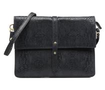 Crossbody Python Soleil Handtasche in grau