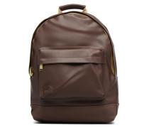 Gold Backpack Rucksäcke für Taschen in braun