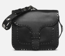 Midnighter Large Messenger Handtasche in schwarz