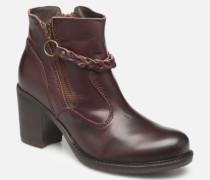 Sanski Ibx Stiefeletten & Boots in weinrot
