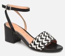 48834 Sandalen in schwarz