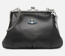 Frame Purse Handtasche in schwarz