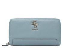 Digital SLG Cheque Organizer Portemonnaies & Clutches für Taschen in blau