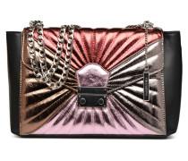 Porté épaule Chaine Handtasche in mehrfarbig