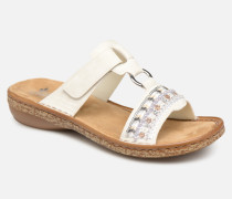 Lana 628M6 Clogs & Pantoletten in weiß