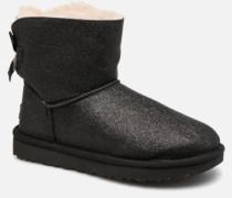 W Mini Bailey Bow Sparkle Stiefeletten & Boots in schwarz