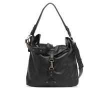 Bernadette Hobo Bag Handtasche in schwarz