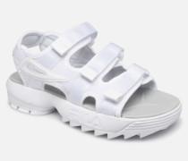 Disruptor Sandal Wmn Sandalen in weiß