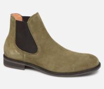 SLHLOUIS SUEDE CHELSEA BOOT B Stiefeletten & Boots in grün