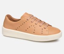 Courb W Sneaker in braun
