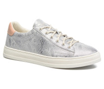 Sidney Lace Up Sneaker in silber