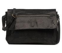 Gunn Suedde Crossbody Handtasche in schwarz