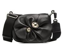 Mini Besace Germain Nœud Handtasche in schwarz