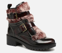 41934 Stiefeletten & Boots in weinrot