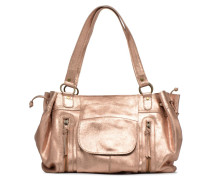 PIHANNA Leather bag Handtasche in rosa