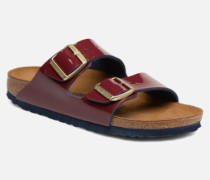 Arizona Cuir Soft Footbed Clogs & Pantoletten in weinrot