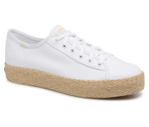 Triple Kick Jute Sneaker in weiß