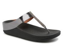 Fino Crystal Sandal Clogs & Pantoletten in schwarz