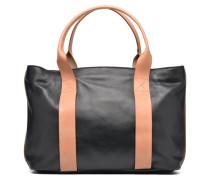 TASMIN BELLA Cabas cuir Handtasche in schwarz