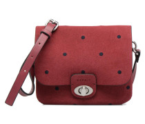 Aimee Dot Small Shoulder bag Handtasche in weinrot