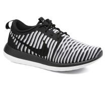 W Roshe Two Flyknit Sneaker in schwarz