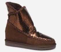 46461 Stiefeletten & Boots in goldinbronze