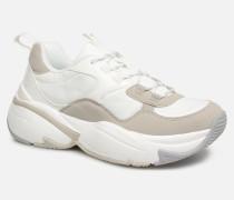 Aire NyloninSerraje Pu Sneaker in weiß