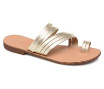 Mavis leather sandal Sandalen in goldinbronze