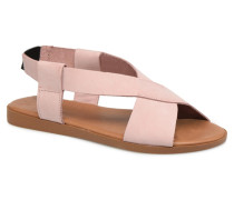 MALU LEATHER SANDAL Sandalen in rosa