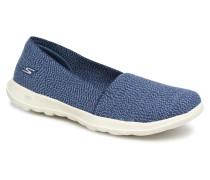 Go Walk Lite Smitten Sneaker in blau