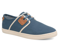 Drone One B. Canvas Sneaker in blau