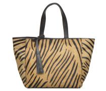 CABAS PARISIEN S Handtasche in braun