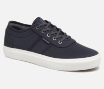 Jack & Jones JFW Austin Canvas Sneaker in blau