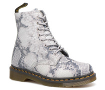 Pascal Snake Stiefeletten & Boots in grau