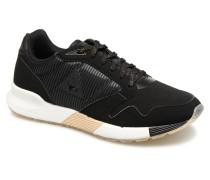 Omega x W Sparkly Sneaker in schwarz